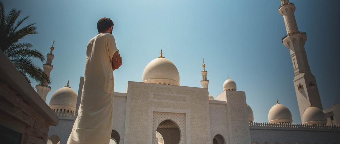 Monument funéraire - la tradition musulmane en période de ramadan